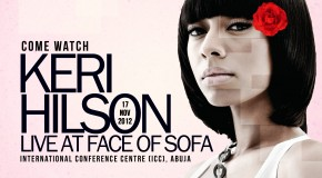 "Ticket Pricing And Info For ""FACE OF SOFA 2012"" With R&B Artiste Keri Hilson"