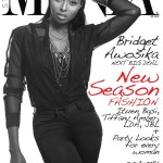 Bridget Awosika On The Cover Of Mania Magazine December Issue 2012