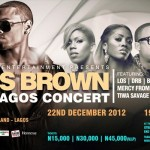 Chris Brown Set To Hit The Stage In Lagos | December 22nd, 2012