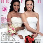"Eku Edewor & Damilola Adegbite Are ""Flower Girls"" On The Cover Of Genevieve Magazine Wedding Edition"