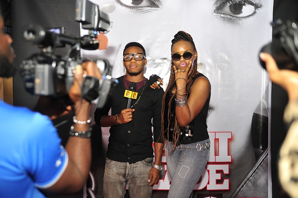 Yemi Alade and Hojay of Hip Tv