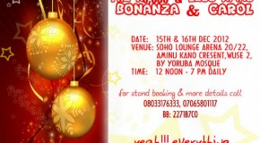 The N5,000 & Less Xmas Bonanza and Carol | Abuja
