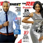 Lynxxx & Oge Okoye Look Refreshed On The Cover of Red Sheet Magazine