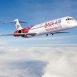 Dana Air Resumes Domestic Flight Operations; Basket Mouth, Denrele, Karen Igho & Durella Fly