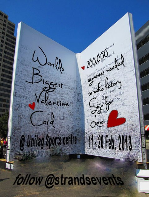 Biggest Valentine Card