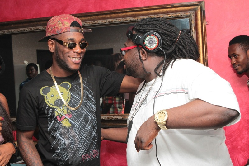 Burna Boy and DJ Humility