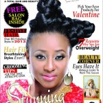 Ini Edo Looks Beautiful On The Cover Of Beauty Box Magazine – Valentine Issue.