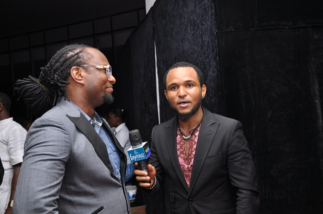 Manny of Cool FM and Micheal Switch