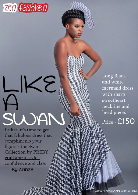 Zen Magazine Editorial Piece On Nigerian Fashion Brand Preby