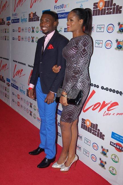 Timi Dakolo & Wife