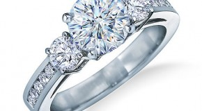 The Engagement Ring: Going for Glamour