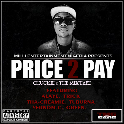 Chuckie - PRICE 2 PAY Artwork [Front Cover]