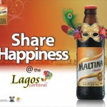Maltina Shares Happiness at Lagos Carnival