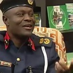 NSCDC commandant Mr Obafaiye Shem placed on suspension by his 'Oga at the Top' comment