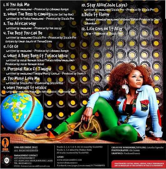 Omawumi - The Lasso Of Truth [Back]