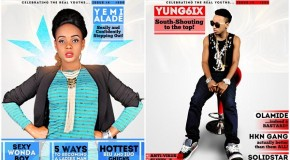 Double Cover: Yemi Alade and Yung6ix Graces Tush Magazine