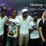 Olamide, Banky W, Skales,Praize And DJ Neptune Others Party With Hennessy Nyx.