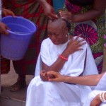 In Pictures: Hair All Gone! Chika Ike Shaves Head For Movie Role