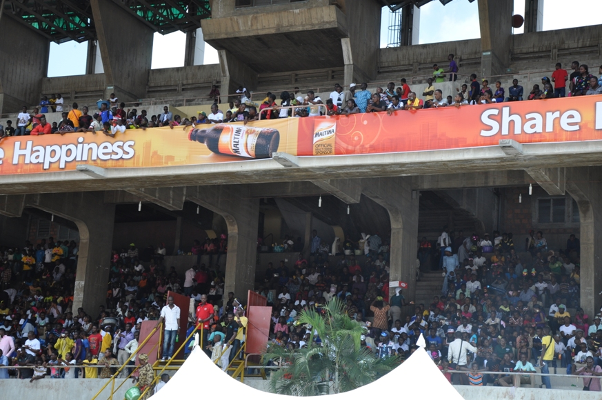 Cross section of the crowd