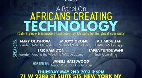 Africans Creating Technology Event | New York | May 2nd, 2013