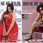 Nollywood Actresses Oge Okoye & Princess Chineke Cover May Issue of House Of Maliq