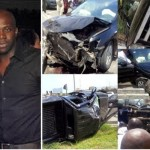 Toke Makinwa's Fiance, Maje Ayida, Involved In Serious Car Accident