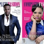 """Hunger Games"" Actor Dayo Okeniyi & Ghanian Actress Nadia Buari Cover Complete Fashion Magazine"