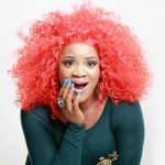 In Pictures: Nollywood Actress Uche Ogbodo Looking Red Hot In Red Hair