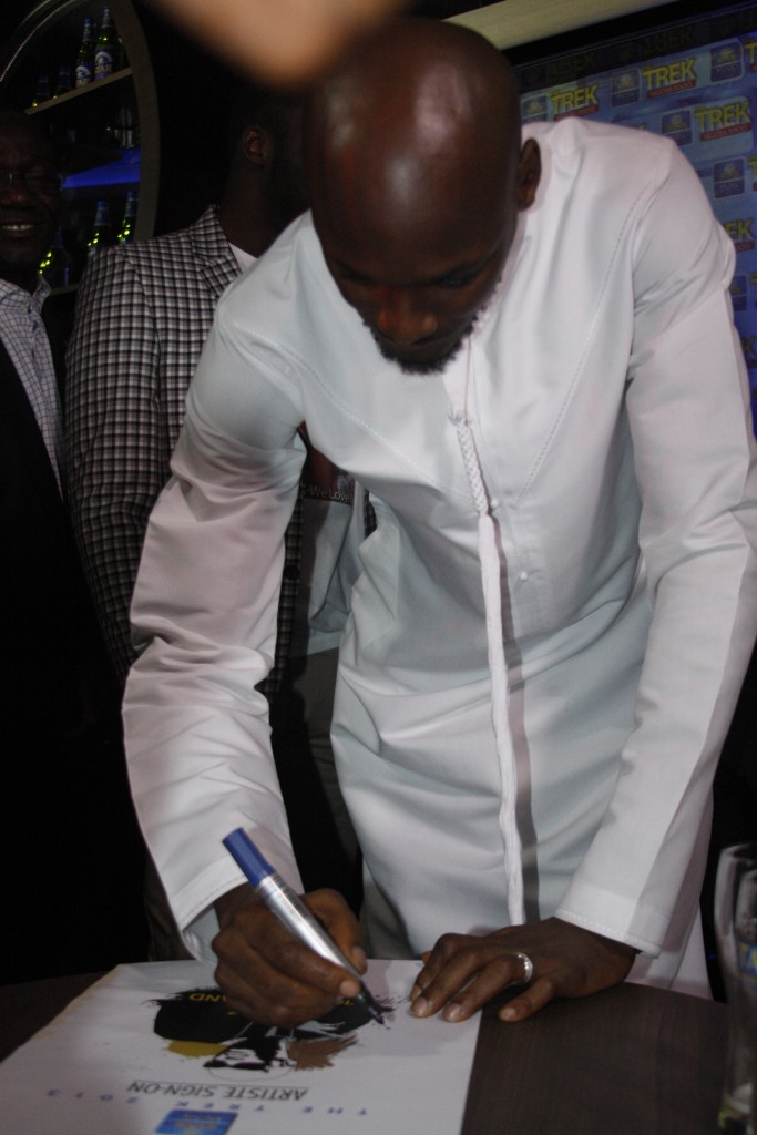 2face at the Star Music Trek Conference sign on conferencejpg