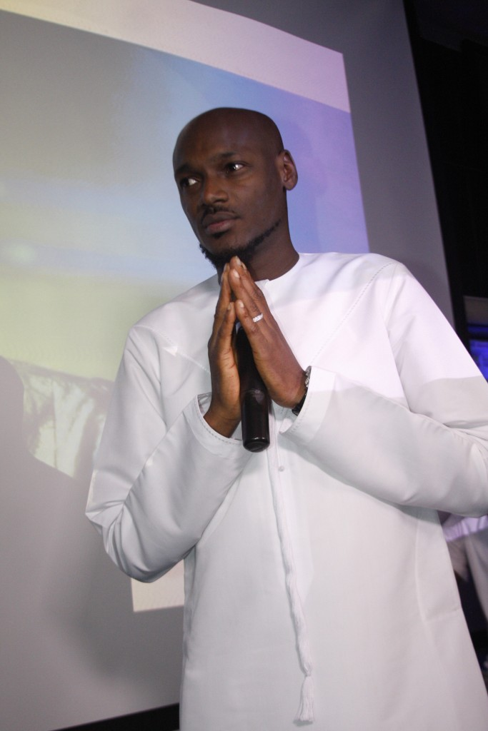 2face at the Star Music Trek sign on press conference