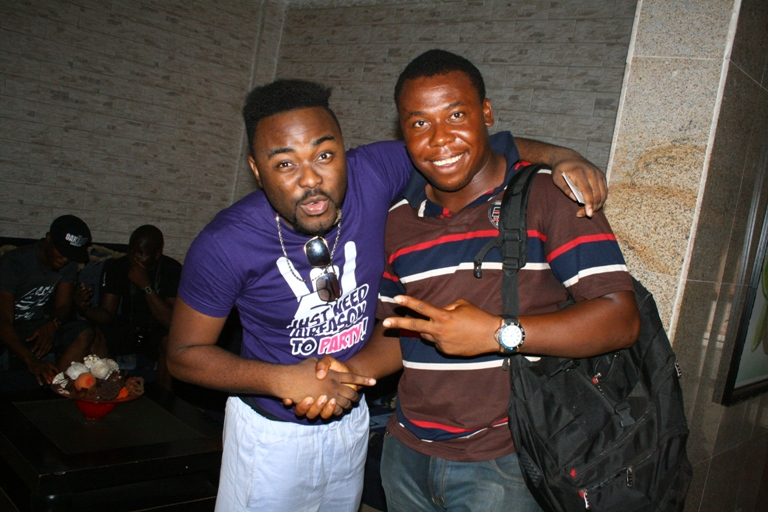 Adams soundcity and a fan