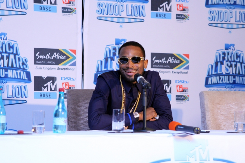 Dbanj at the MTV Africa All Stars press conference (3)