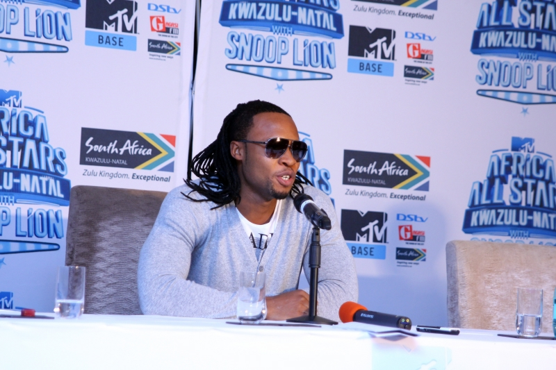 Flavour at the MTV Africa All Stars press conference (1)