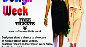 Countdown To Nigerian Student Fashion and Design Week 2013