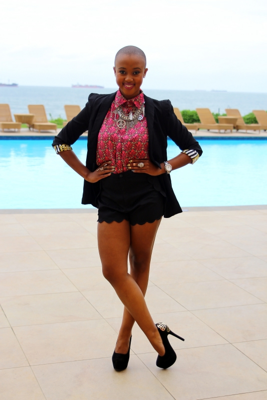 MTV South Africa VJ, Nomuzi at the MTV Africa All Stars press conference