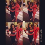 Photos: Omotola Linking Up With Danny Glover, Mel B & Kim Elise