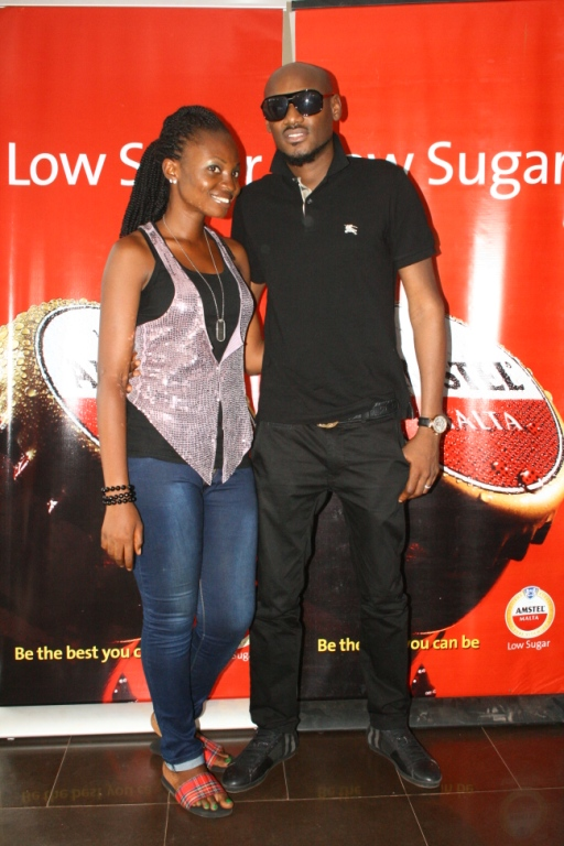 Sandra ticket winner and tuface