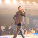 VIDEO: Wizkid & Banky W ReUnite On Stage At Galaxy S4 Launch