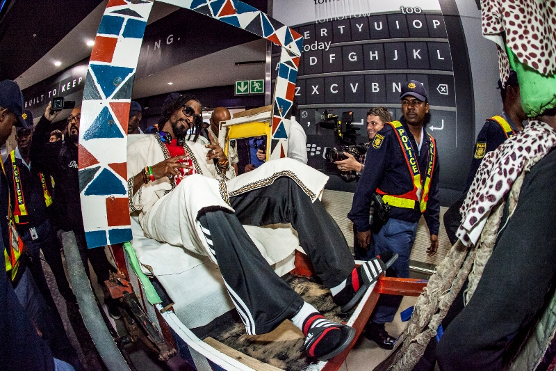Snoop Lion Arriving At Durban King Shaka International Airport for MTV Africa All Stars KwaZulu-Natal - picture by Al Nicoll Photography (1)
