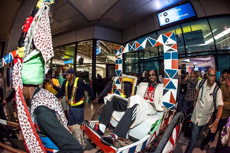 Snoop Lion Arriving At Durban King Shaka International Airport for MTV Africa All Stars KwaZulu-Natal - picture by Al Nicoll Photography (3)