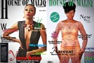 Ghanian Actress Yvonne Nelson and R&B Soul Singer Azeezat Looking Spectular On The Cover Of House Of Maliq June 2013 Issue