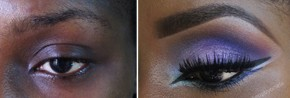 Go Blue this Weekend! How to get this Eyeshadow look in 5 quick steps