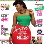 I'm Most Comfortable When I'm Nude – Omotola Jalade | Check Out Latest Cover Of City People Fashion And Lifestlye Magazine