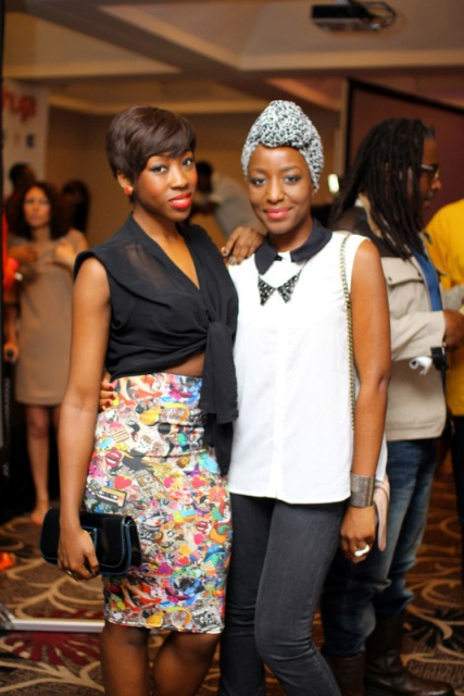 Beverly Naya & Oreka Goodis