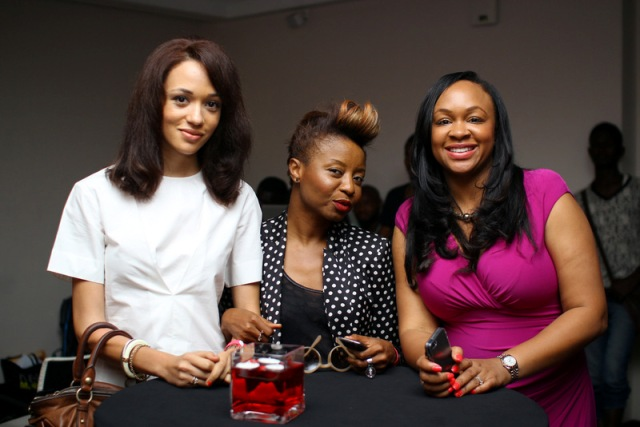 Eku Edewor and Guests
