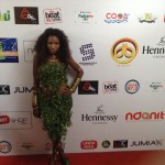 Photos: Donna Diva's Outfit Made Of Leaves. Yay Or Nay?
