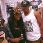 Spotted! Actress Jackie Appiah With US Rapper Jadakiss
