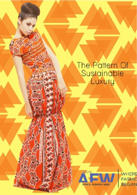 "PHOTO CAMPAIGN ""THE PATTERN OF SUSTAINABLE LUXURY"" from  AFWNY 2013"