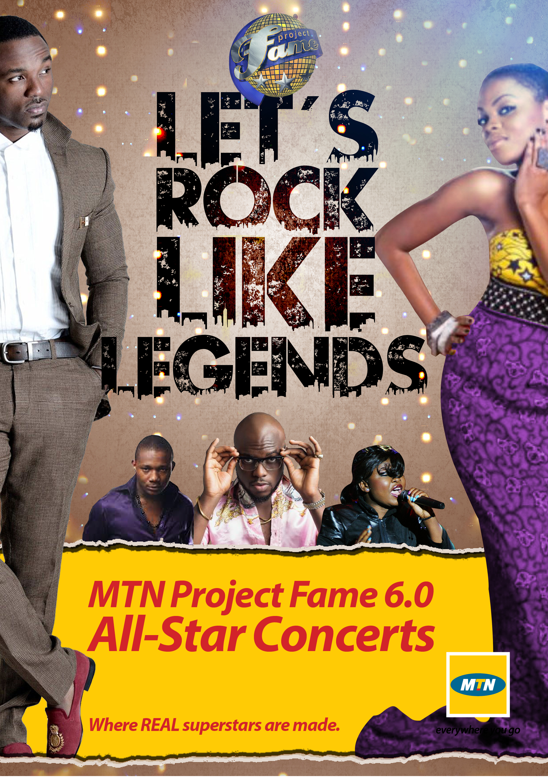 Project Fame All Star Concert