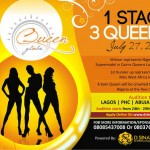 Queen Globe 2013: Storm The Runway! 10 Designers 30 models 30 Contestants 4 Queens 1 Runway 1 Event.